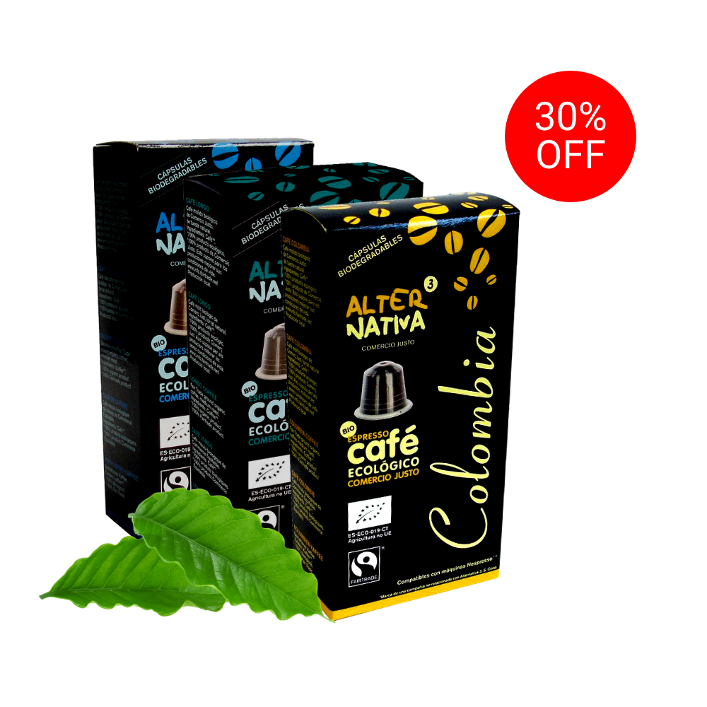 30% off on Alternativa3 Coffee Capsules from Wellness Nutrition Company