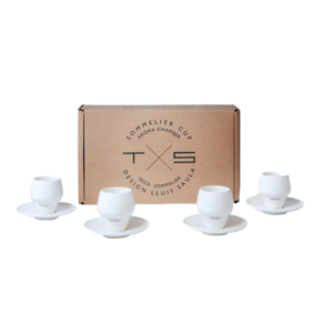 Pack of 4 Espresso Sommelier cups